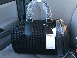 Melissa Quilted Duffle