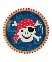 Meri Meri Ahoy There Pirate Small Paper Plate