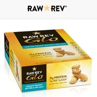 Raw Rev Glo protein bar