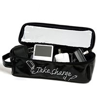 MIAMICA Large Take Charge Charger & Electronics Organizer