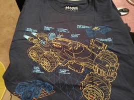 Mass Effect loot wear t shirt