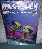 Inhumans vs X-men comic marvel collector corps