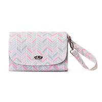 Lilly Bit Uptown Diaper Clutch