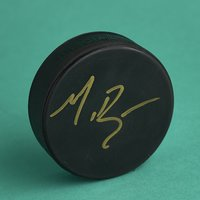 "Matt Doherty ""Mighty Ducks"" Signed Puck"