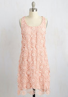 Wendy Bird All I Ever Flaunted Dress in Blush Pink Womens 14 XL Modcloth stylish Surprise