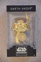 Funko Star Wars Smuggler's Bounty GOLD DARTH VADER 2015 Boss Trophy