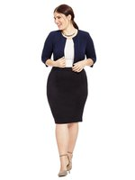 Jessica Howard Navy cardigan 18W