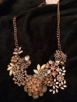 Modcloth Flower Statement Necklace