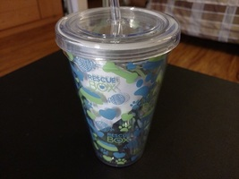 Insulated cup/tumbler with straw