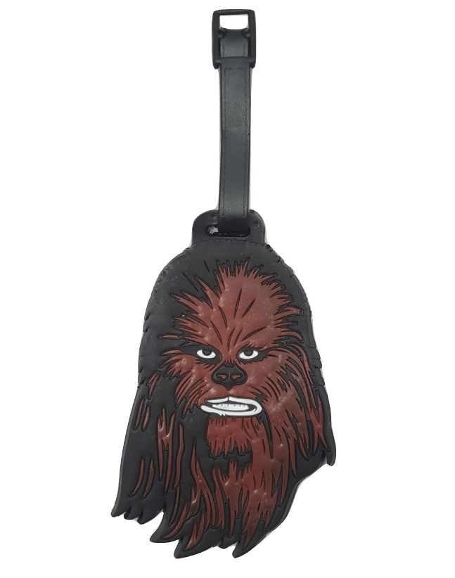 Chewbacca Rubber Luggage Tag