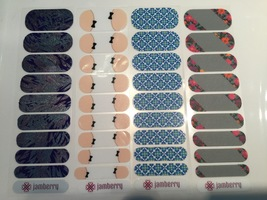 Jamberry Nail Wraps Set - Fun Designs