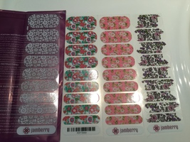 Jamberry Nail Wraps Set - Florals