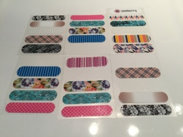 Jamberry Nail Wraps Sample Sheets