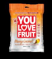 You Love Fruit mango coconut fruit leather
