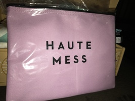 "MILLY ""Haute Mess"" Zip Pouch"