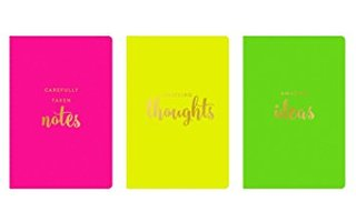 Neon Pocket Journal by Eccolo Ltd