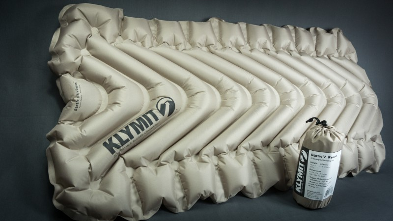 Klymit 3/4 length compact sleeping pad