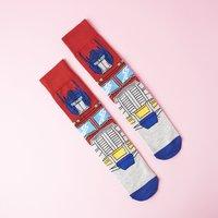 Transformers Optimus Prime socks