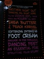 NPW Shea Butter & Peach Kernal Foot Cream