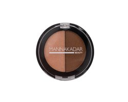 MannaKadar Radiance Split Pan bronzer & Highlighter Duo