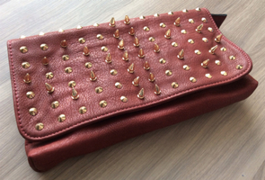 social-bliss-style-box-studded-clutch-red