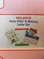 Hello Kitty and Mimmy Letter Set