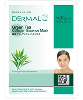 Dermal Green Tea Collagen Essence Face Mask