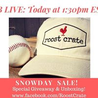 ROOST CRATE BALL CAP HAT