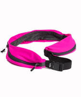SPRIGS CARRY-ALL 3 POUCH BELT PINK/BLACK