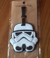 Stormtrooper Rubber Luggage Tag