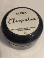 Lilfox Cleopatra Restorative Milk + Honey Beauty Mask