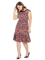 JETE Aztec print Gemma Dress