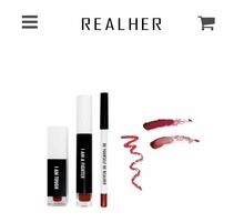 Real Her Lip Kit -Deep Red