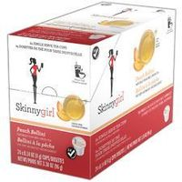 Skinnygirl Peach Bellini Green Tea k-cups