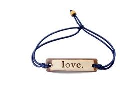 MudLOVE Inspirational Bracelet