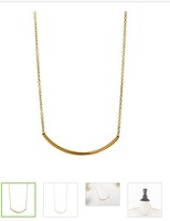 "Peyton ""Royal"" 18k Yellow Gold Plated Necklace"