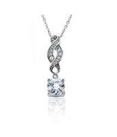 "Iris ""Noble"" 18k Gold Infinity Necklace"