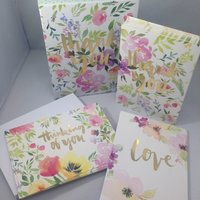 Flower love assorted boxed notes