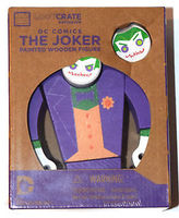 Loot Crate exclusive  The Joker painted wooden figure