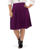 Skater Skirt in Plum