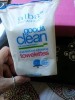 Alba Botanica Exfoliating Towelettes