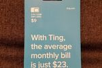 Ting Mobile 3 in 1 GSM SIM Card