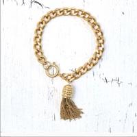 Rachel Zoe tassel bracelet