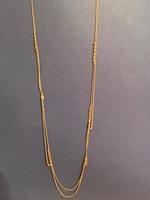 BCBGeneration Gold Wrap Necklace