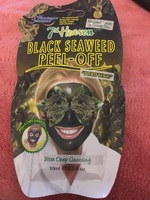7th Heaven Black Seaweed Peel-Off Mask