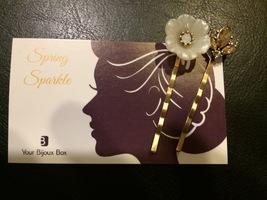 Your Bijoux Box spring hair pins