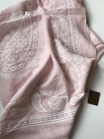 Pink paisley scarf by Lovoda