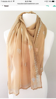 Silk Block Printed Scarf