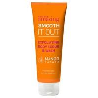 you are AMAZING mango papaya exfoliating body scrub & wash