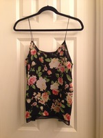 Lumiere Rose Floral Tank Top
